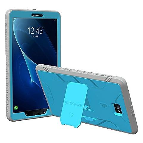 Poetic Revolution Lourd Devoir Protection Hybride Coque Protection Complète avec Protecteur d'Écran Intégré pour Samsung (Custodia Protettiva In Gomma)