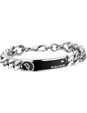 Police Herren-Charm-Armband Edelstahl PJ25334BSS.01