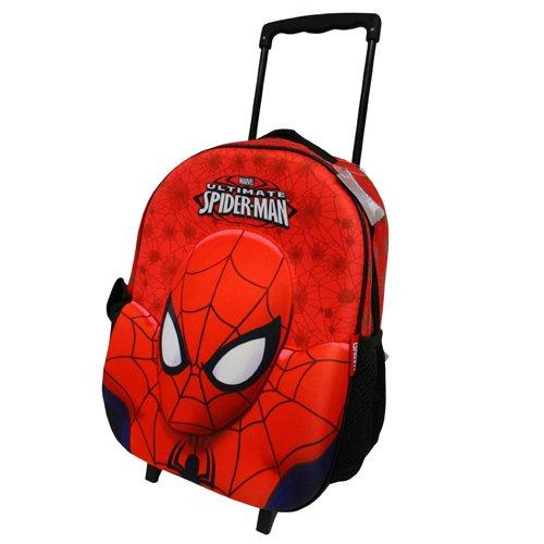 Imagen de spiderman carro con ruedas  maletas niños niños  marvel spider man