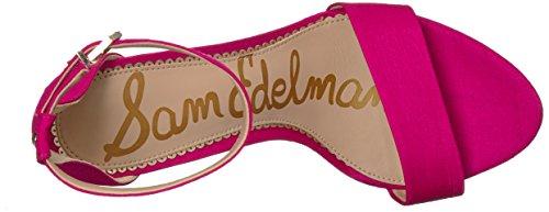 Pink Sandales Magenta Femme Compensées Sam Yaro Edelman XFgqnRp