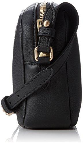 Joop! Nature Grain Cloe Sacoche bandoulière cuir 21 cm Black (Noir)