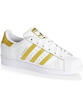 [Patrocinado]adidas Superstar J, Zapatillas de Deporte Unisex niños