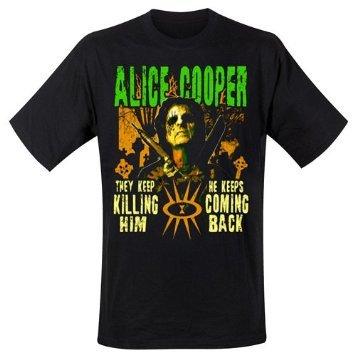 Alice Cooper-Maglietta Graveyard, taglia L (Large)