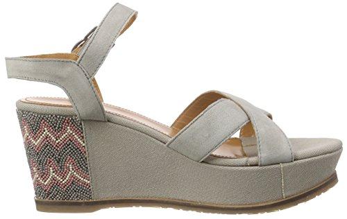 Apepazza Vanna Crosta, Sandales Pour Femmes Gris (gris (gris))