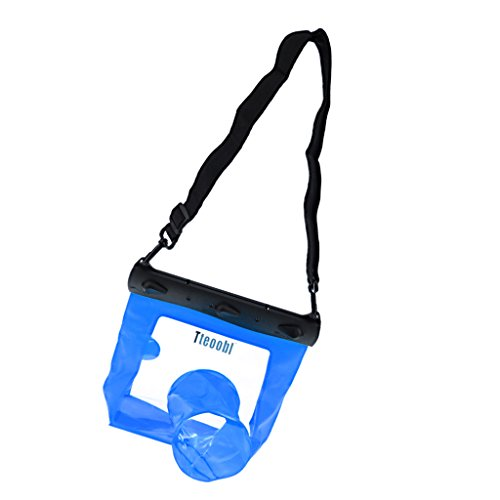 MagiDeal 20M Underwater 20M Waterproof Protector Bag Case Cover For Boating Fishing Blue