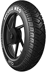Ceat Secura Neo 90/100-10 53J Tubeless-Type Tyre Front and Rear