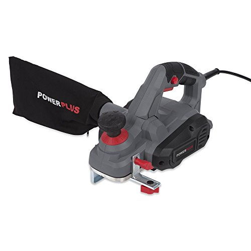 Powerplus 900w 230v Rebate Planer Fitted with Dust Adaptor, Side Guide & Dust Bug POWE80030 - 2 Years Warranty