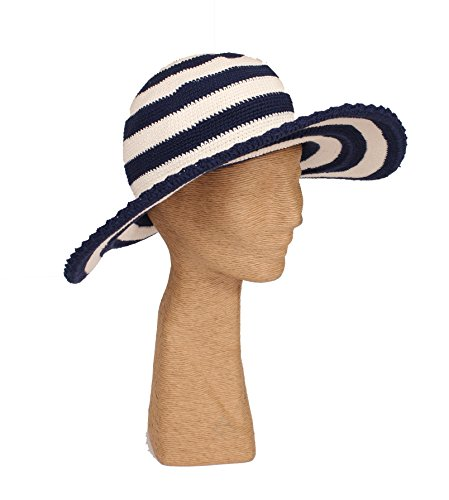 tlcyou-comfort-style-packable-sun-hat-stripe-navy-cream