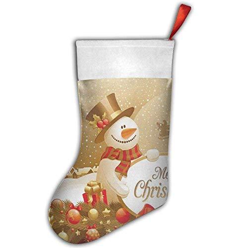 Lepo, merry christmas cute snowman snowflake christmas calza natalizia, 45,7cm