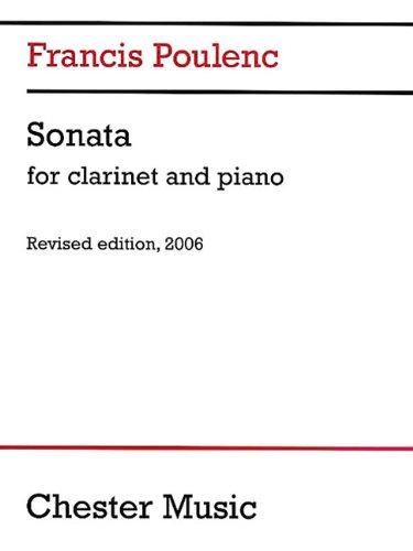 Francis Poulenc: Clarinet Sonata (2006 dition)