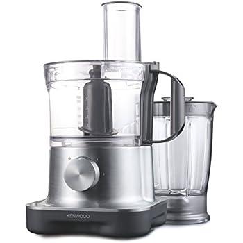 Kenwood FPM 250 Kompakte Küchenmaschine, 2,1 Liter / 750 Watt ...
