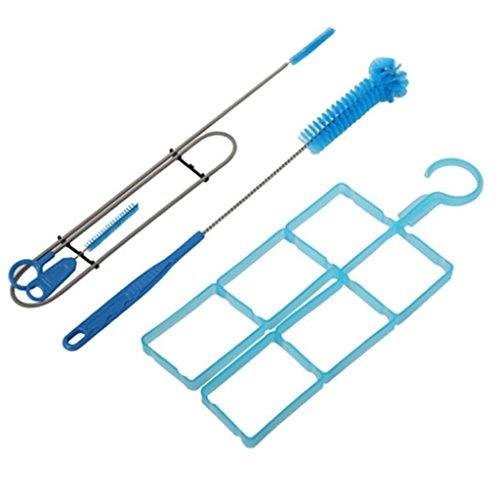 Hydration Pack Reinigungsset Trinkblasen,4 in 1 Trinkblase Reinigung Kit for Trinksystem Trinkrucksäcke Rucksack - 2