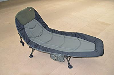 Carptrix Wide Boy Padded Bedchair with Pocket from Carptrix