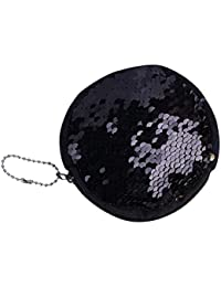 Confidence Small Hand Bag Fashionable And Reversible Wallet Purse Pouch For Girls, Beautiful Mermaid Sequin Bags...