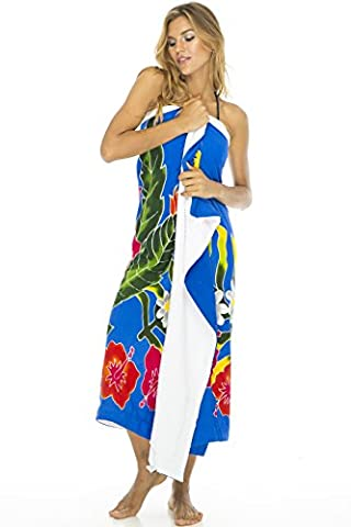 Back from Bali Towel Wrap Women's Swimsuit Beach Cover Up Sarong Dress