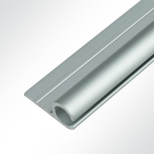 Preisvergleich Produktbild Lysel® Aluminium Kederschiene Vorzeltkederschiene eloxiert 15x30mm 3 Meter
