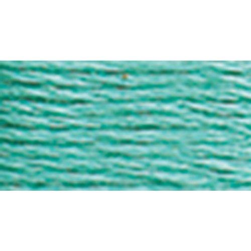 DMC 6Strand Stickerei Cotton Floss, mittelgroß, Meergrün, 8.7-Yard, 12Stück -
