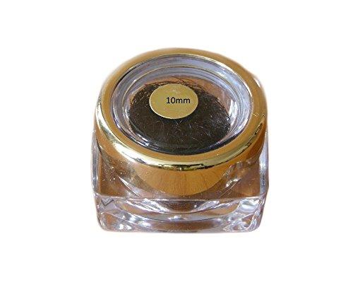 cils en soie - cils de qualité professionnelle, des cils clin styliste alternatif, C Curl 0.15mm avec une longueur de 10mm, les cils de soie de haute qualité pour l'extension des cils!