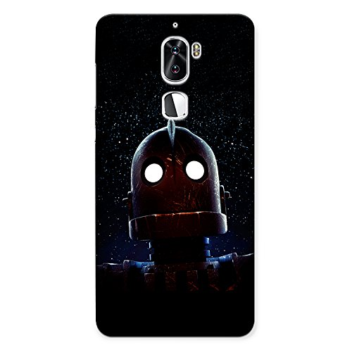 CrazyInk Premium 3D Back Cover for Coolpad Cool 1 - Metal Robot...