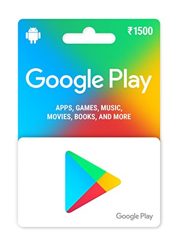 Google Play Gift Card - Rs.1500