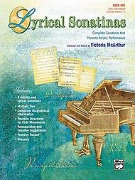 Lyrical Sonatinas - Book 1 - Piano