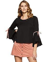Krave Women's Plain Regular Fit Top