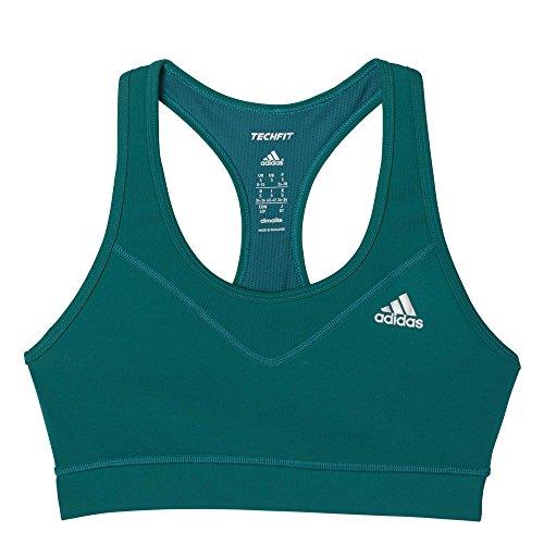 adidas Damen Unterwäsche Tf Bra Solid T-Shirt, Grün, S