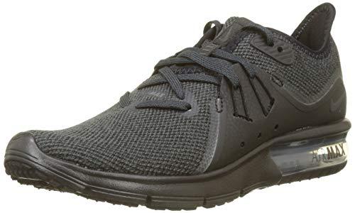 Nike Damen WMNS Air Max Sequent 3 Laufschuhe, Schwarz (Black/Anthracite 010), 37.5 EU