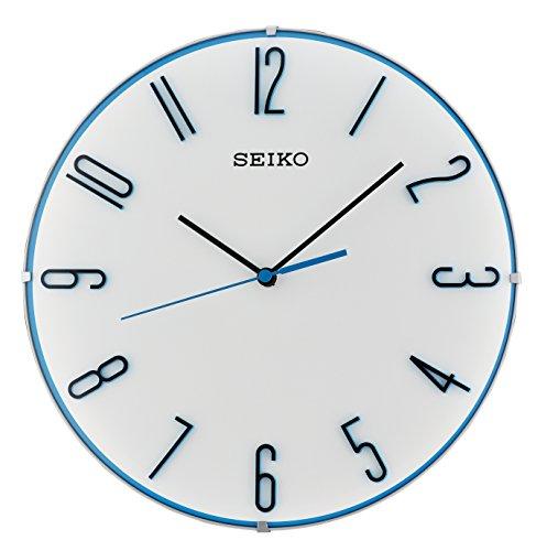 Preisvergleich Produktbild Seiko Unisex Wanduhren Kunststoff Blau QXA672W