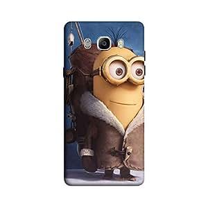 Khakee Printed Designer Minion Theme Back Cover Cases for Samsung J7
