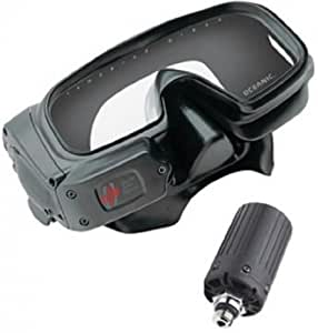Oceanic Datamask HUD Wireless Computer Mask w/Trans-With Free Online Class