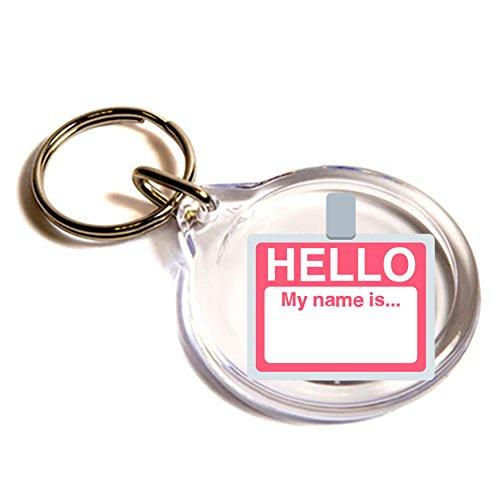 nome distintivo chiave Emoji L'anello di / Name Badge Emoji Key Ring