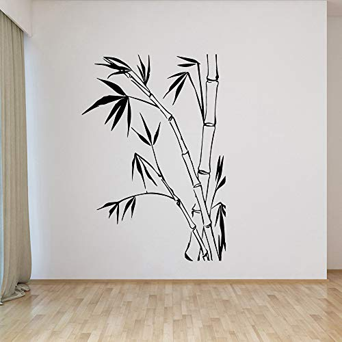 WWYJN Exquisite Bamboo Environmental Protection Vinyl Stickers Modern Wall Decor for Kids Rooms DIY Home DecorationM 30cm X 43cm