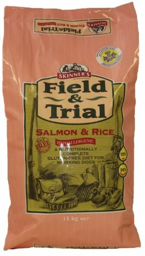 30kg Skinner's Field & Trial Salmon & Rice Hypoallergenic Dog Food (2 x 15kg)