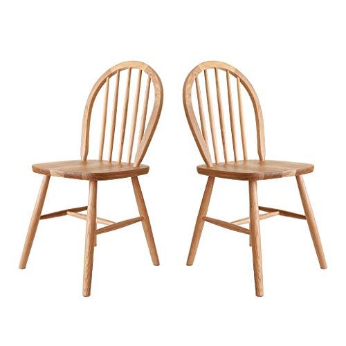 Pan&Pan Juego de 2 sillas Windsor