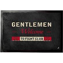 El Club De La Lucha - Gentlemen Welcome To Fight Club Felpudo Alfombrilla (60 x 40cm)