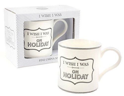 I Wish I A Été Vacances Porcelaine Fine par Leonardo