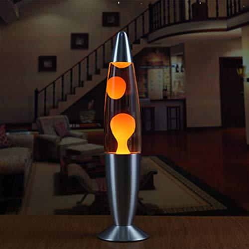 LouiseEvel215 Nette Metall Basis Lava Lampe Wachs Vulkan Stil Nachtlicht Quallen Nachtlicht Glare Glühlampen Lava Beleuchtung Lampen