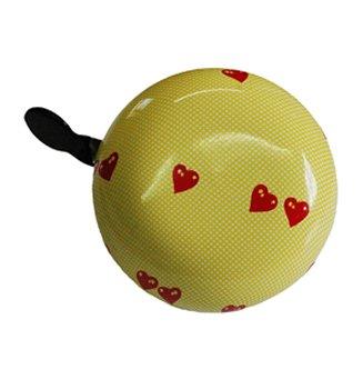 """TAQ-33 Ding-Dong Glocke """"Heart"""" SB-Verpackung"""