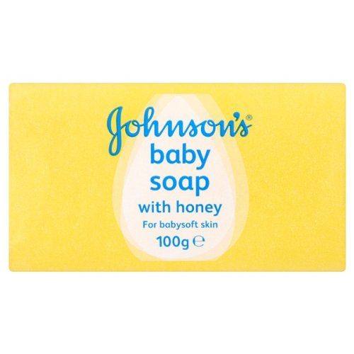 Johnsons Baby-Seife mit Honig 100g Pack (4 x 100g)