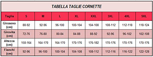 Cornette Chemise de nuit Femme CR6512016 Gris/Blanc/Rouge