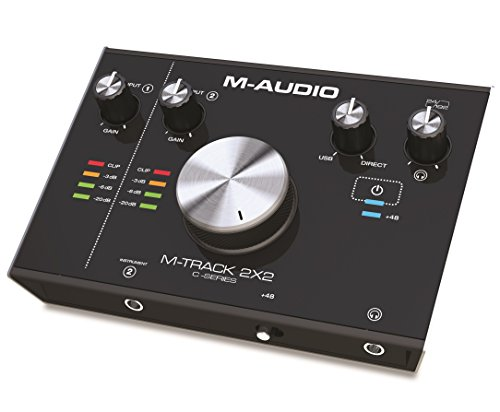 M-Audio M-Track 2x2 - Interfaz de audio USB con 2 entradas y...