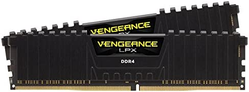 Corsair Vengeance LPX Memorie per Desktop a Elevate Prestazioni, 16 GB (2 X 8 GB), DDR4, 3000 MHz, C15 XMP 2.0, Nero