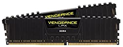 Corsair CMK32GX4M2F4133C19 Vengeance LPX 32 GB (2 x 16 GB) DDR4 4000MHz C19 XMP 2.0 High Performance Desktop Memory Kit - Black