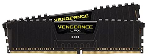 Corsair CMK16GX4M2B3600C18 Vengeance LPX 16 GB (2 x 8 GB) DDR4 3600 MHz XMP 2.0 High Performance Desktop Memory Kit - Black