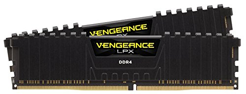 Corsair Vengeance LPX 16GB (2x8GB) DDR4 3000MHz C15 XMP 2.0 High Performance Desktop Arbeitsspeicher Kit, schwarz bei Amazon