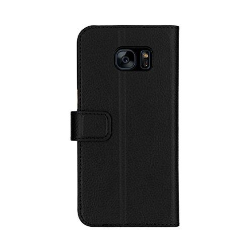 Xqisit Flap Cover Schutzhülle Adour für Apple iPhone 6 Plus / 6s Plus Schwarz (black)