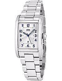 Oris Damen-Armbanduhr Armband Edelstahl + Gehäuse Automatik 56176924031MB