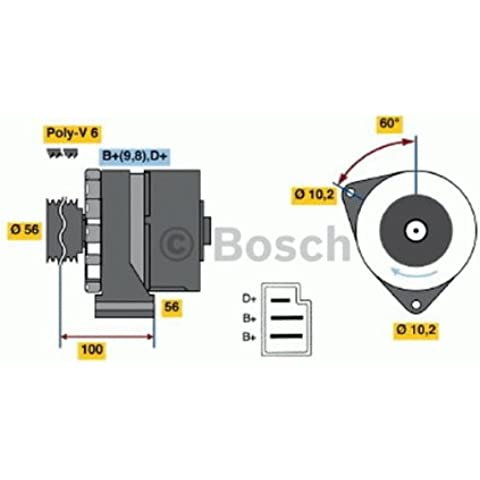 Bosch 0986033810 ALTERNATORE