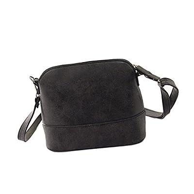 FeiTong Sac à main, Femmes Scrub sac à main PU Purse Sac besace en cuir Messenger